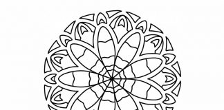 easy-mandala-coloring-page- thumbnail