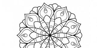 simple-mandala-coloring-page- thumbnail